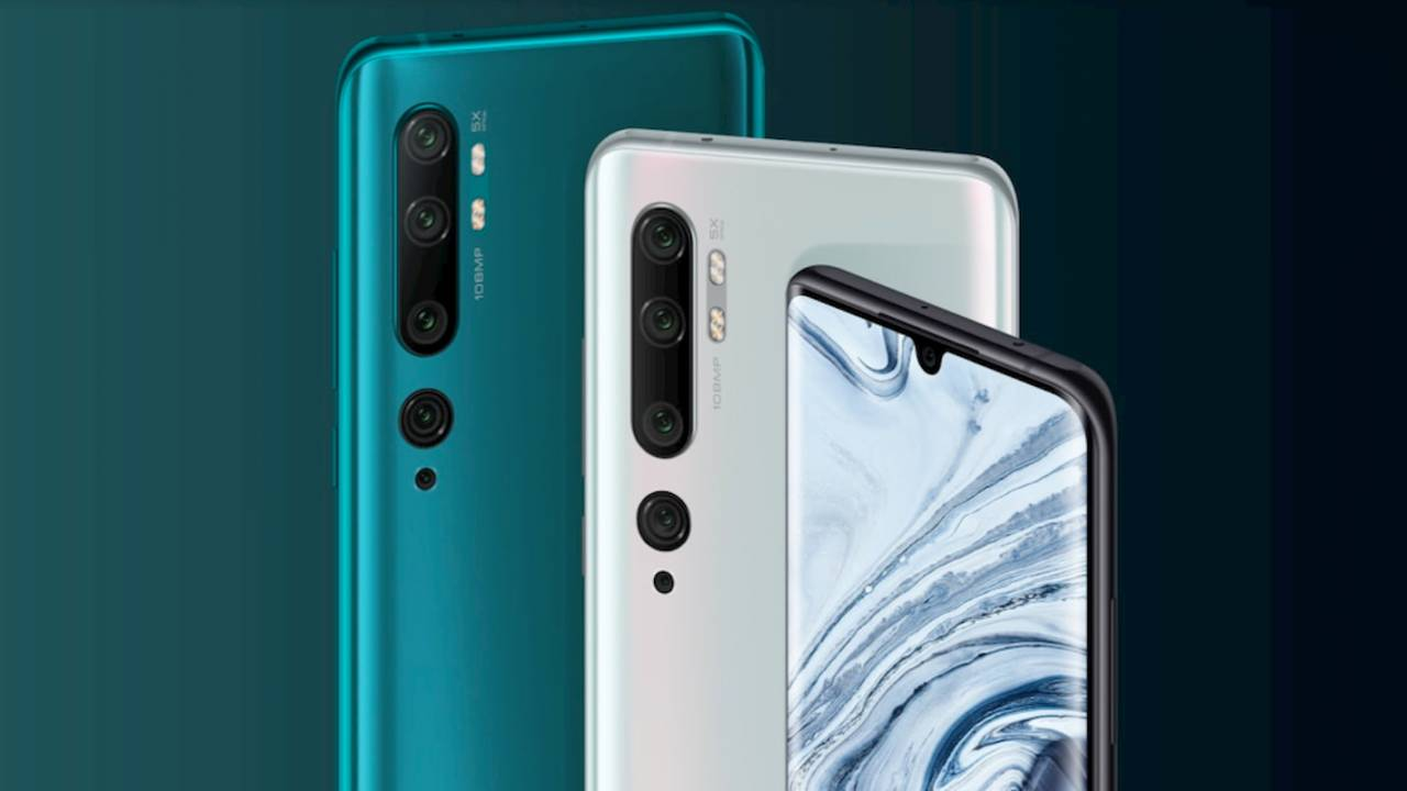 Xiaomi Mi Note 10 brings CC9 Pro's 108MP camera to a bigger audience