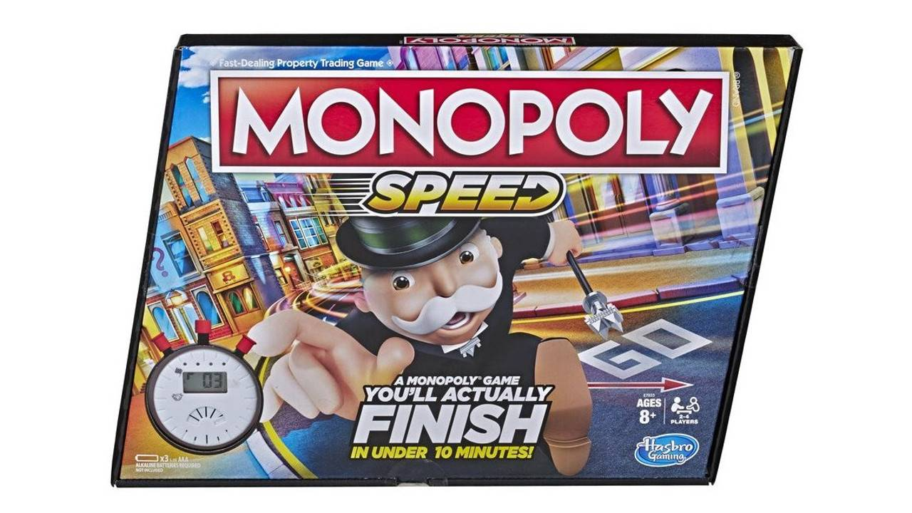 Monopoly Speed is for people who think regular Monopoly takes too long