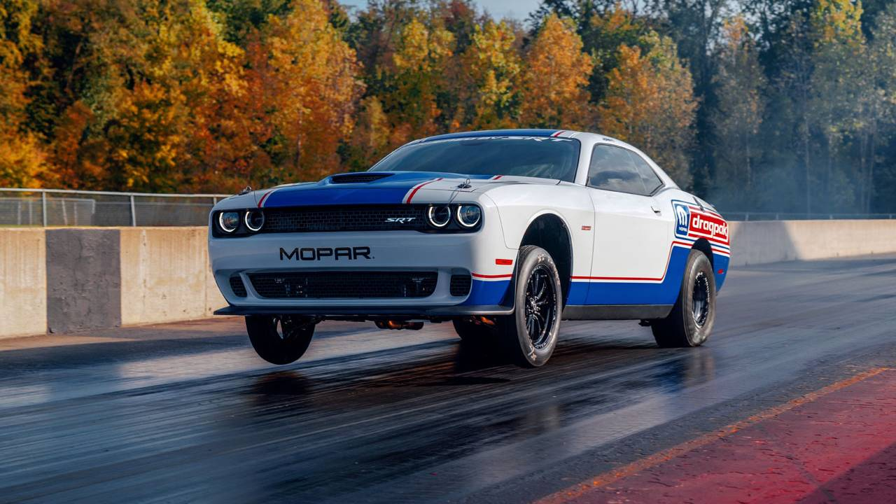 Dodge unveils 2020 Mopar Dodge Challenger Drag Pak at SEMA