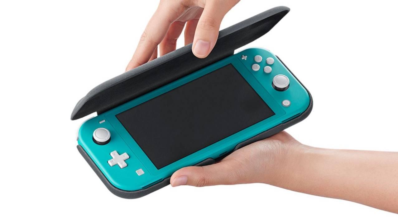 Nintendo Switch Lite flip cover finally heads west