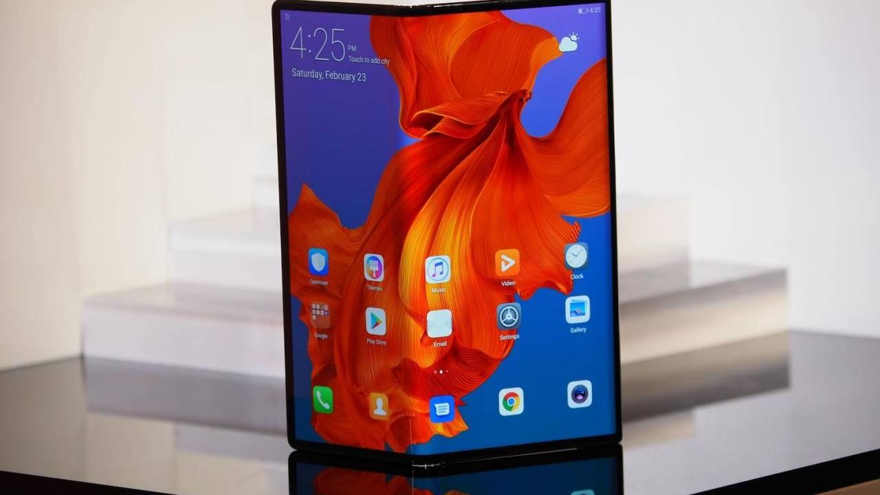 Huawei Mate X 5G screen repair costs half the phone's price