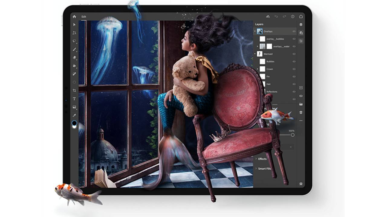 Photoshop for iPad rolls out to everyone as Adobe launches cloud documents