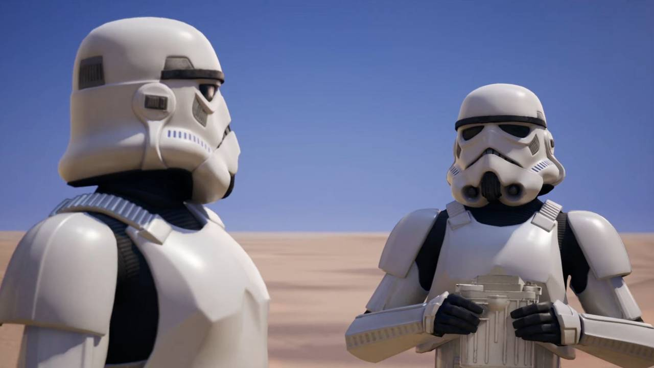 Star Wars Stormtroopers invade Fortnite today