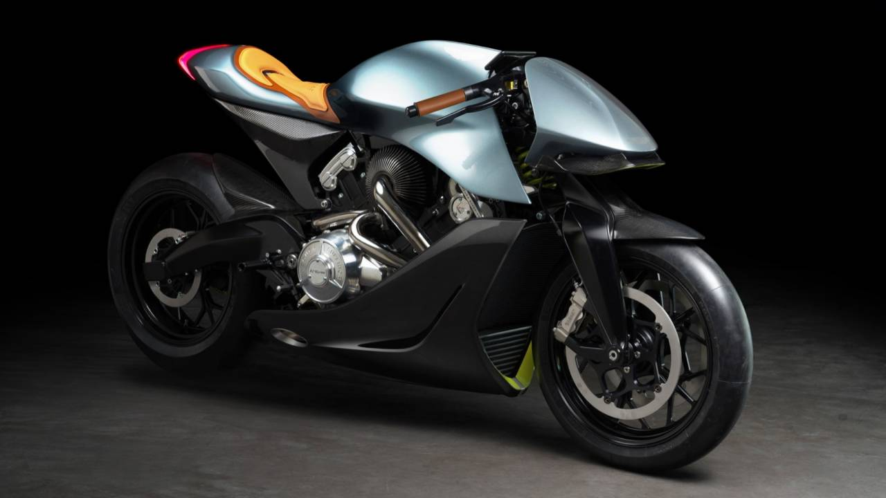 Aston Martin AMB 001 motorcycle melds hypercar style with two-wheel tech