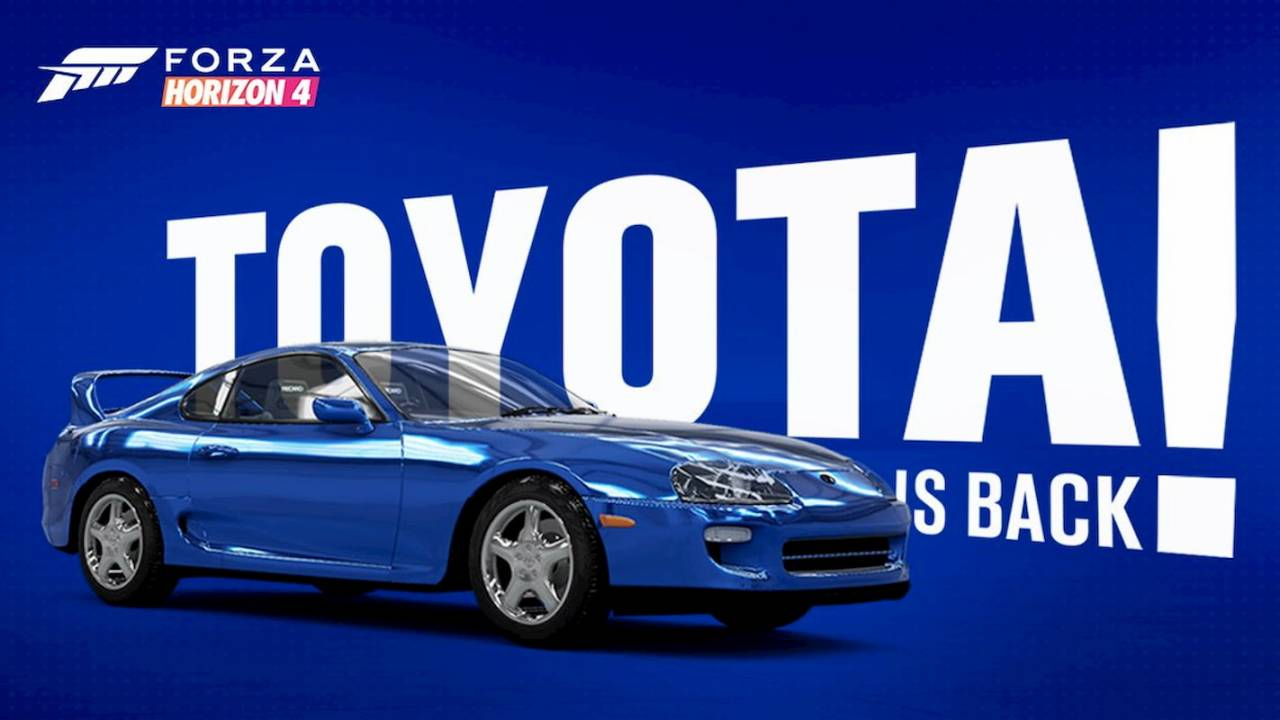 Toyota returns to Forza Horizon 4 next month