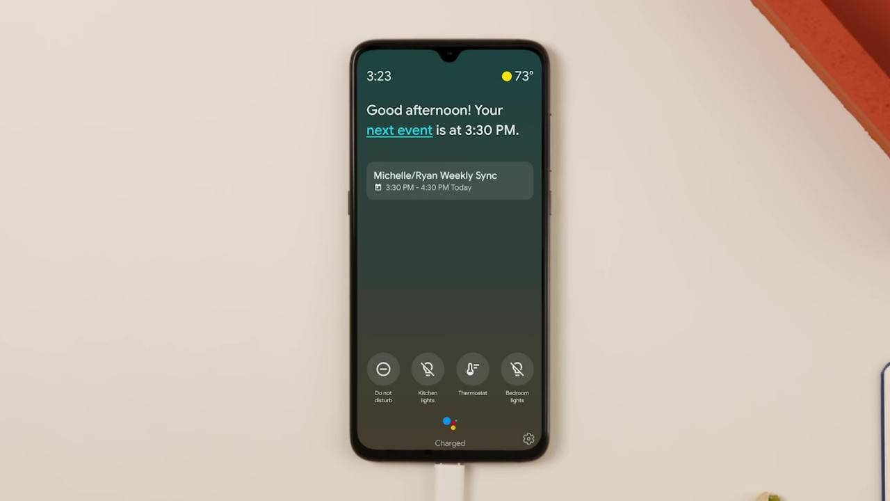 Google Assistant Ambient Mode rolls out to select Android phones