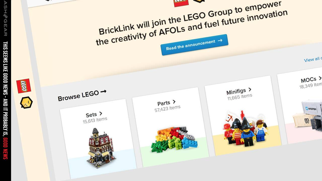 LEGO acquires BrickLink, promises friendly future