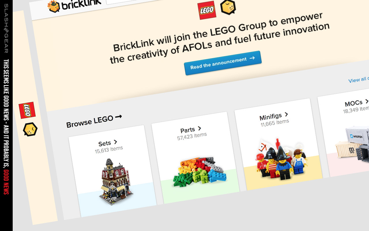 Lego Acquires Bricklink Promises Friendly Future Slashgear