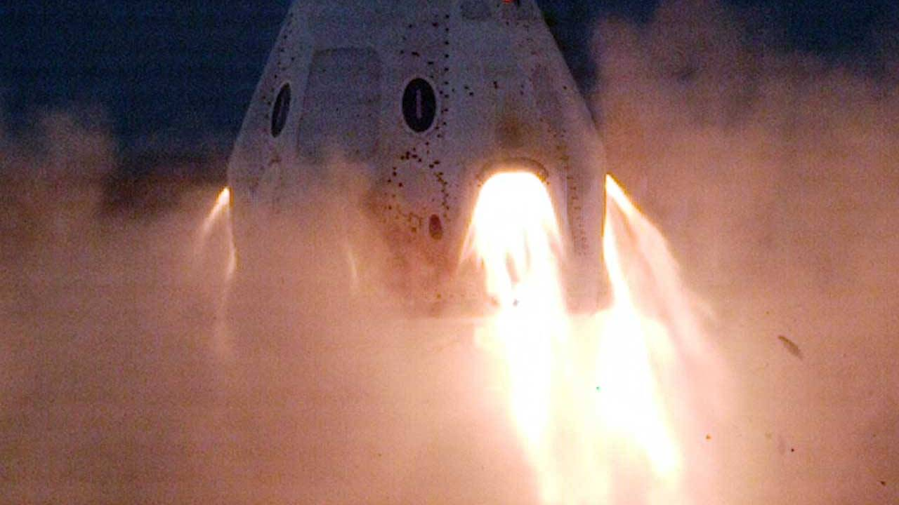 NASA announces SpaceX Crew Dragon completes static fire tests