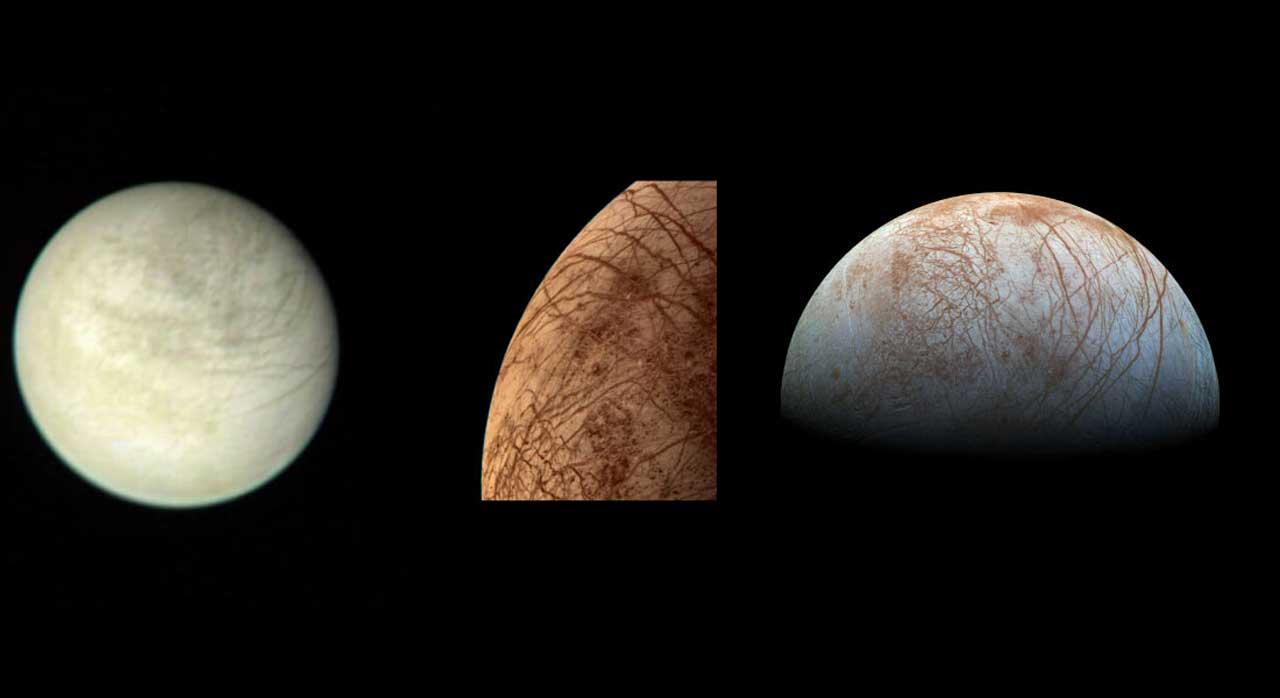NASA confirms that Europa has water vapor