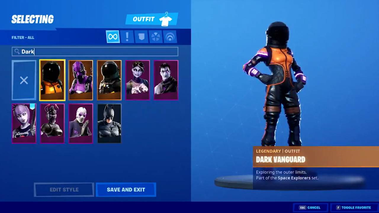 Epic just made it easier to find cosmetics in Fortnite's Locker tab