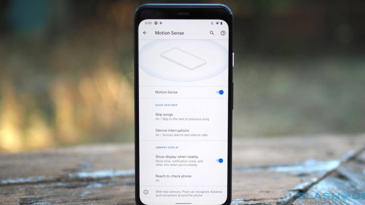 Pixel 4 Motion Sense gestures can be remapped but you need root access