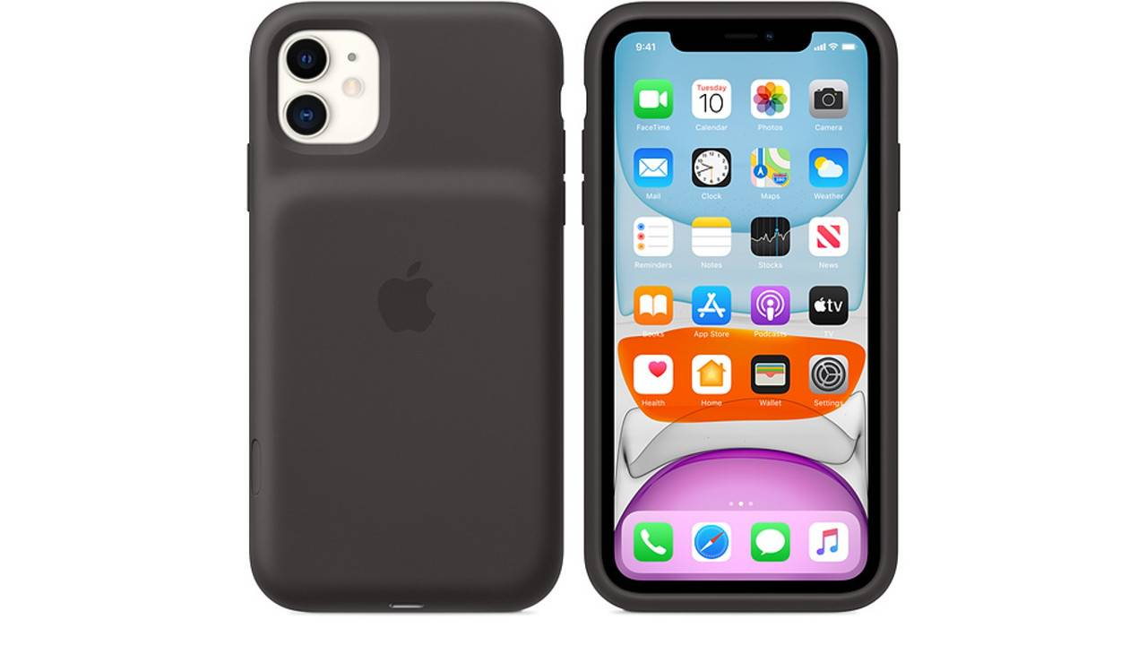Apple iPhone 11 Smart Battery Case has a dedicated camera button