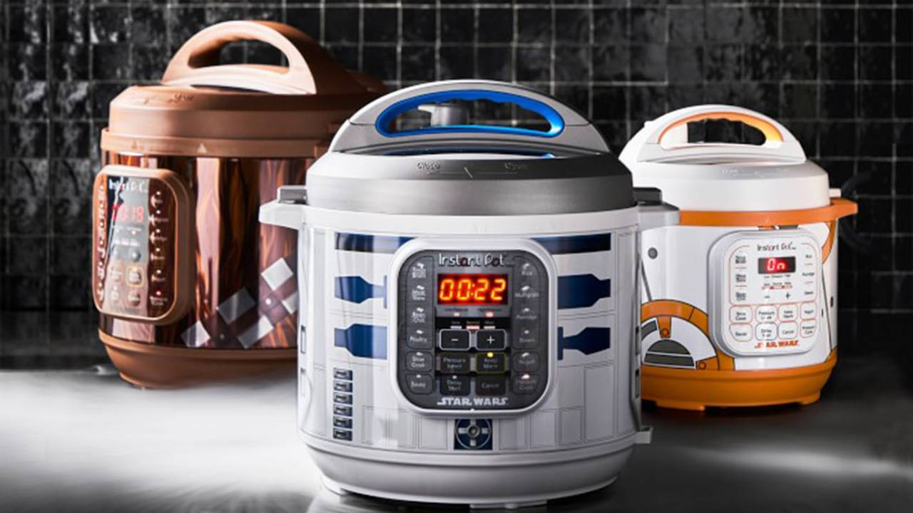 Instant Pot Star Wars makeover brings R2-D2, Darth Vader, and BB-8
