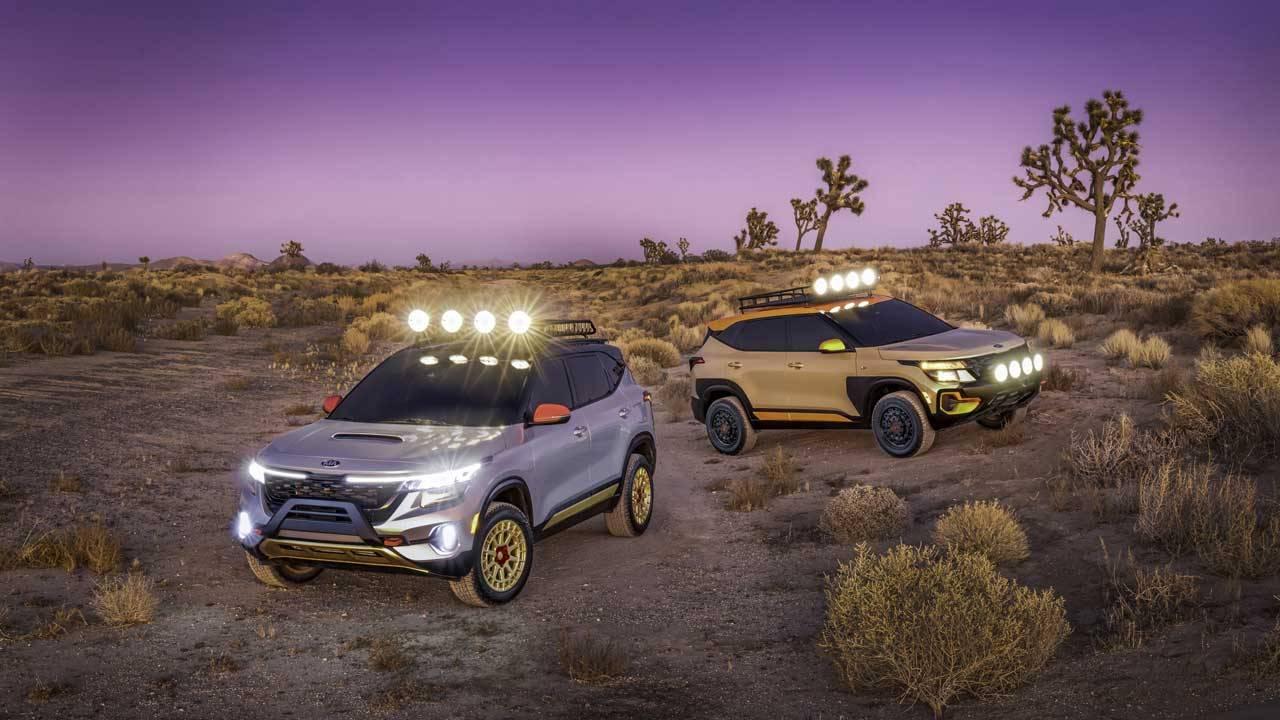 Kia Seltos X-Line Concepts roll into LA Auto Show