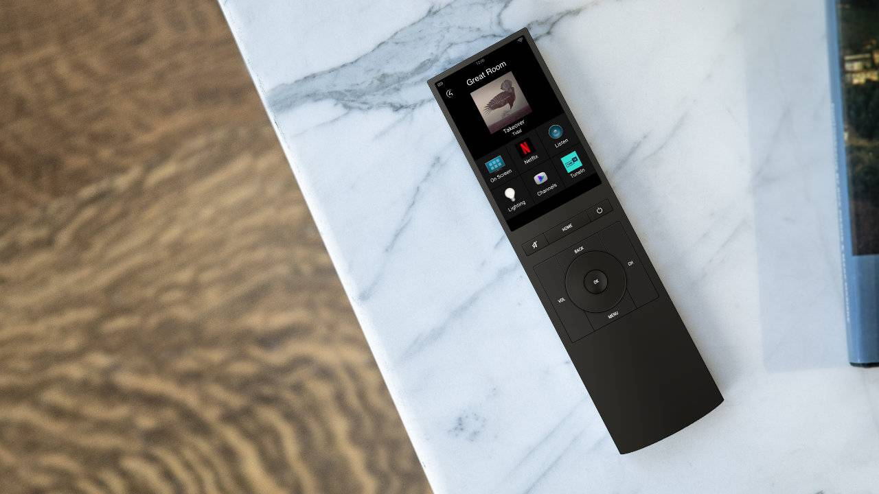 Control4 unveils Neeo Remote with touchscreen for smart home control