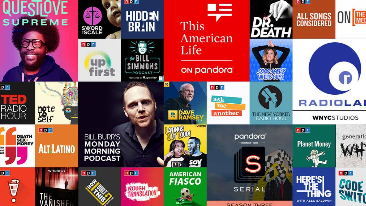 Pandora finally brings podcasts to its desktop app