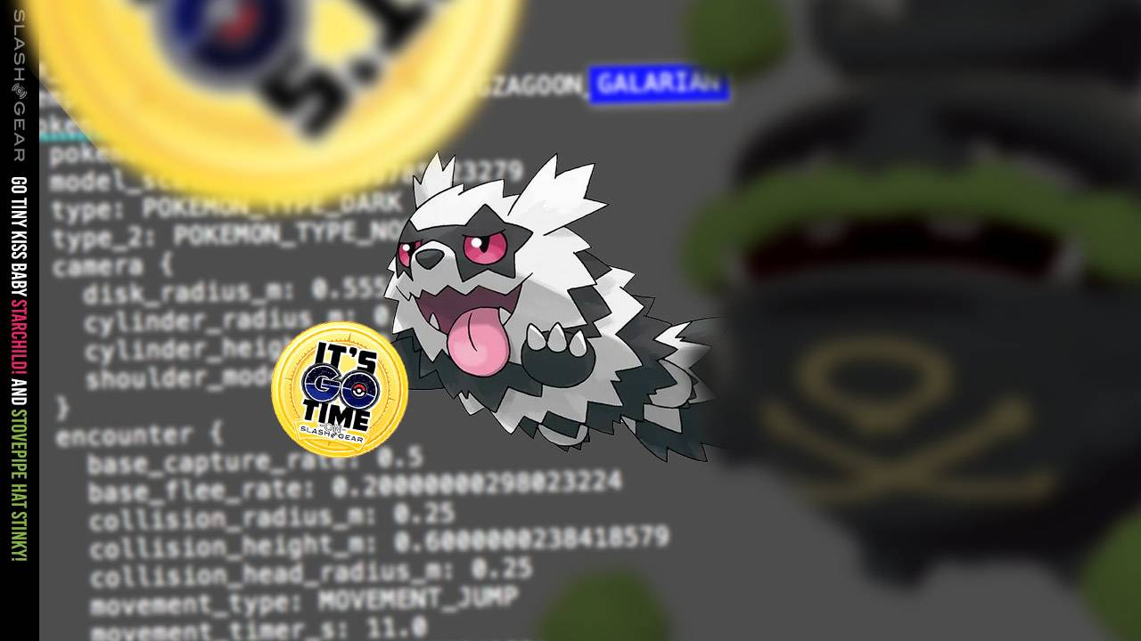Pokemon GO's first 3x Galarian forms leaked in game code