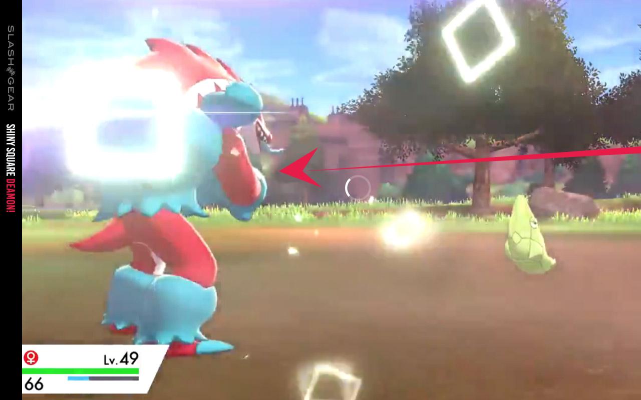 6IV Ultra Shiny Trevenant Pokemon Sword and Shield Square Shiny
