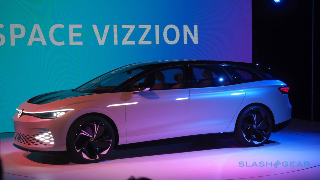 The VW ID. SPACE VIZZION is a weird EV sports wagon with a secret message