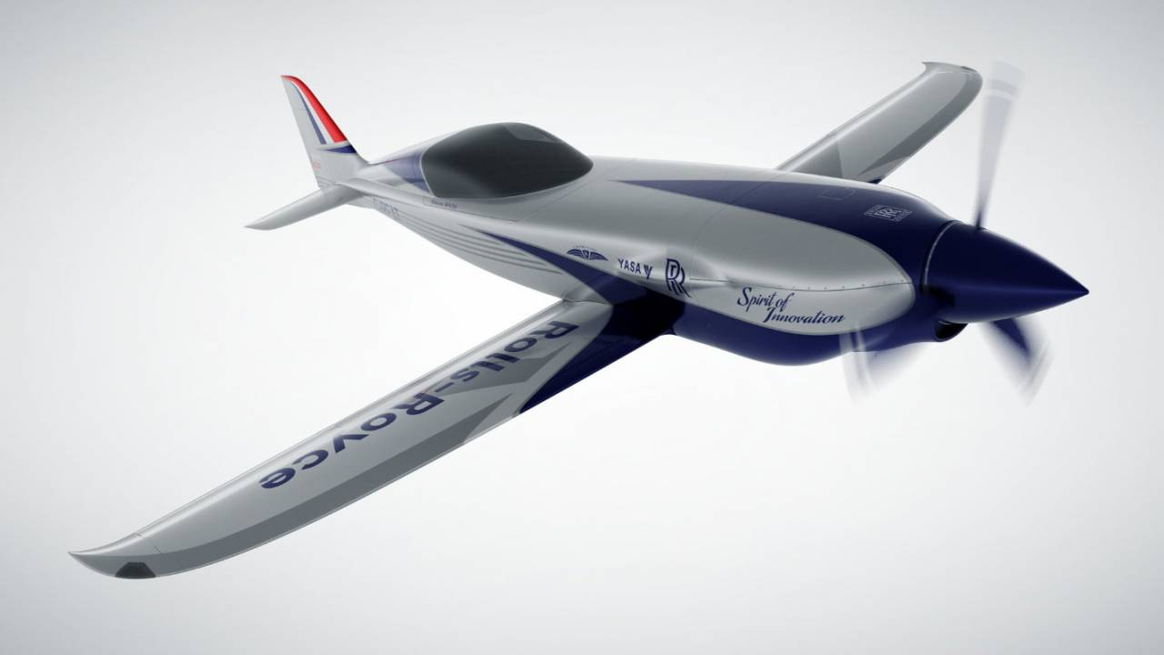 Rolls-Royce ACCEL all-electric plane prepares to set a world record