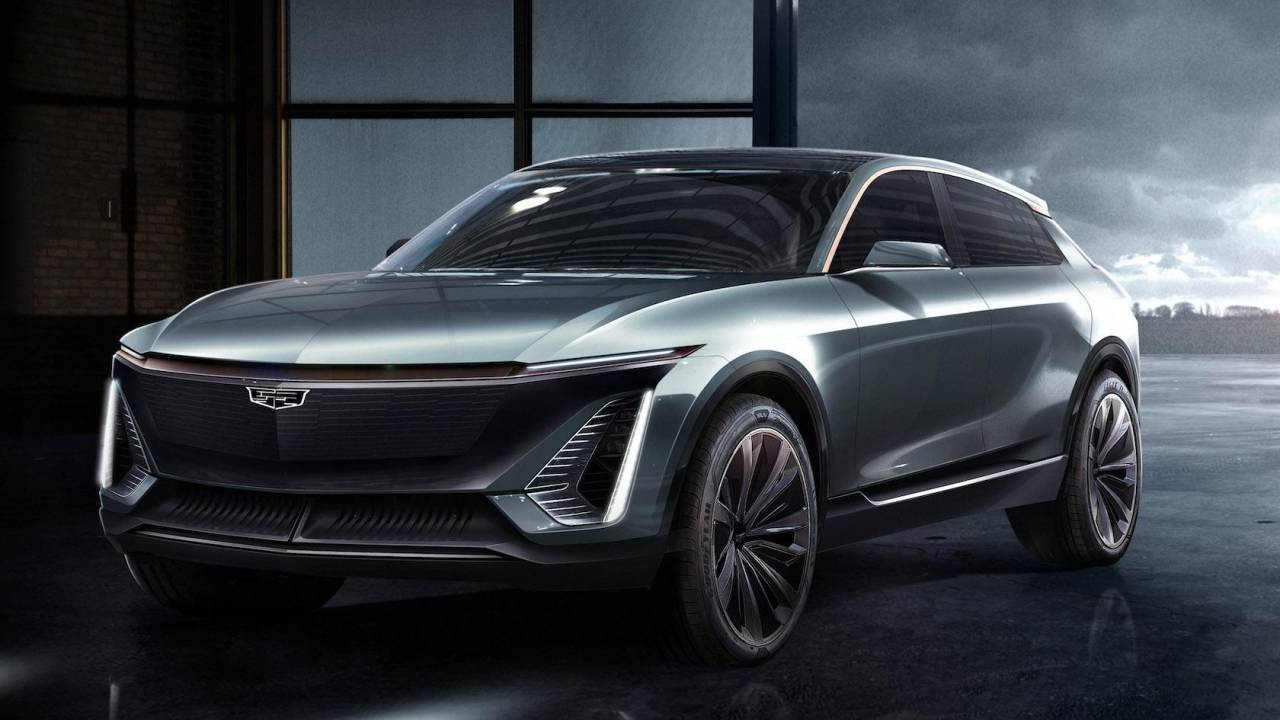 The new Cadillac EV will be a death blow to awkward naming