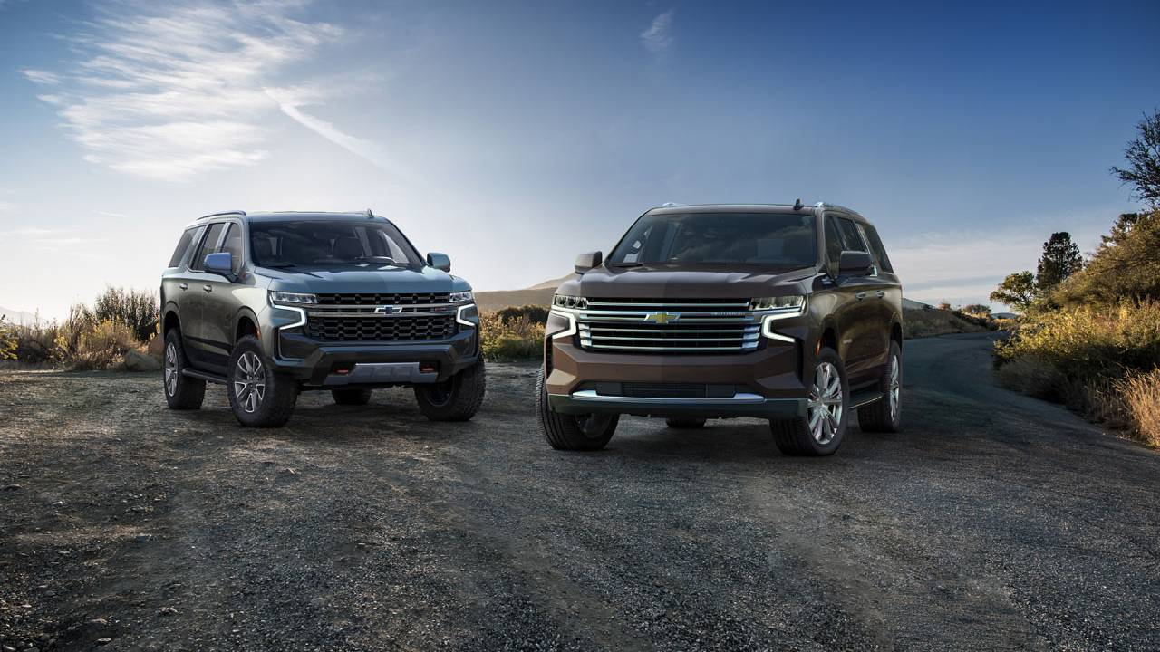 2021 Chevrolet Suburban and Tahoe debut with new style