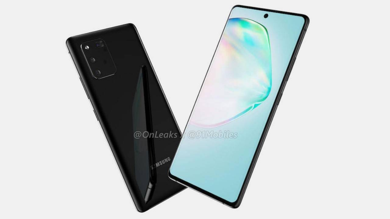 Galaxy A91 renders suggest Samsung has settled on its new design language