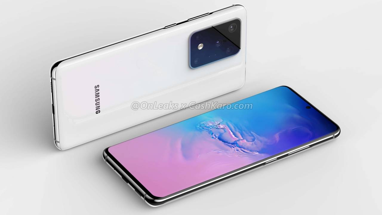 Galaxy S11+ camera layout confirmed to be not so insane after all