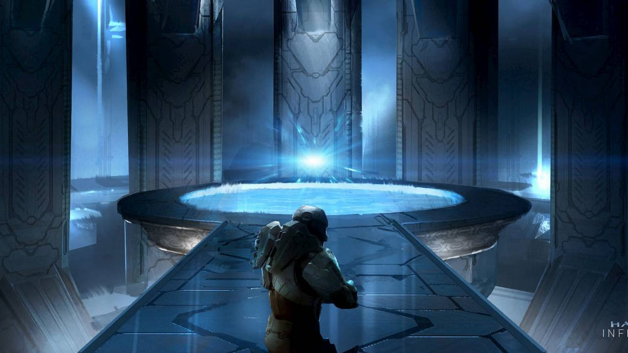 Halo Infinite concept art teases big things for Master Chief's return