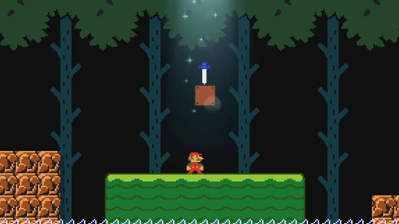 Super Mario Maker 2 update adds Link's Master Sword, new course parts