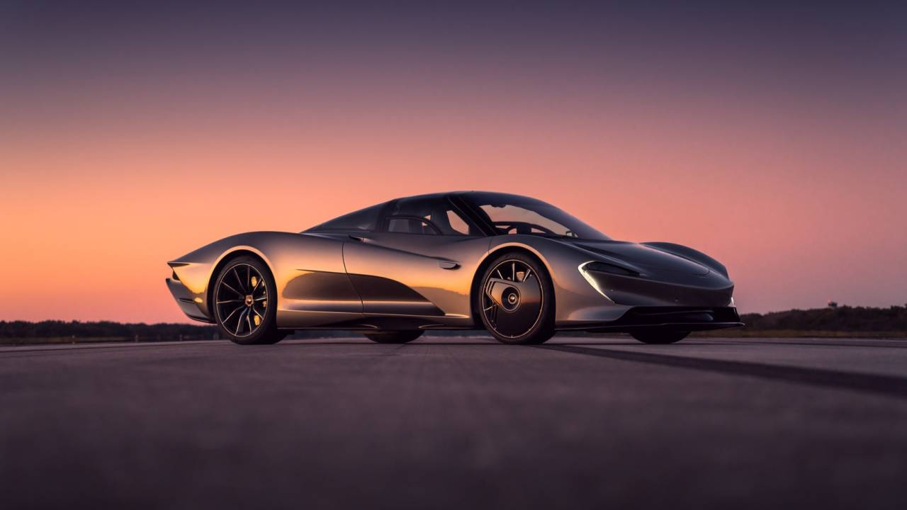 With 250mph under its belt, you're looking at the fastest McLaren ever