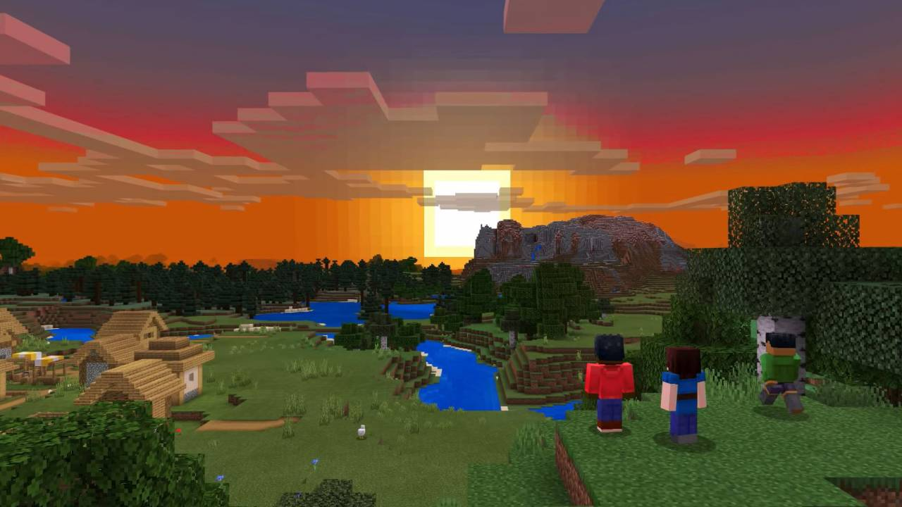 Minecraft cross-play finally lands on PS4 tomorrow