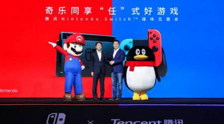 Nintendo Switch in China will have only one game at launch next week
