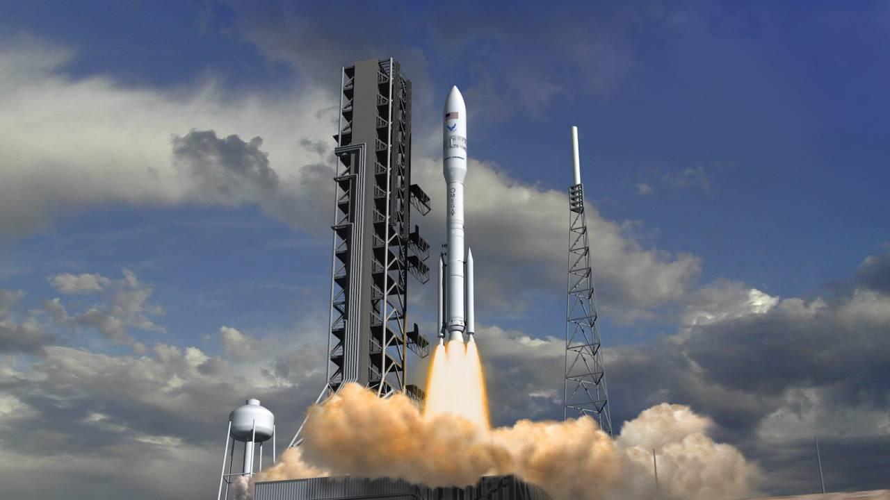 Northrop Grumman's OmegA rocket gets an interesting first launch client