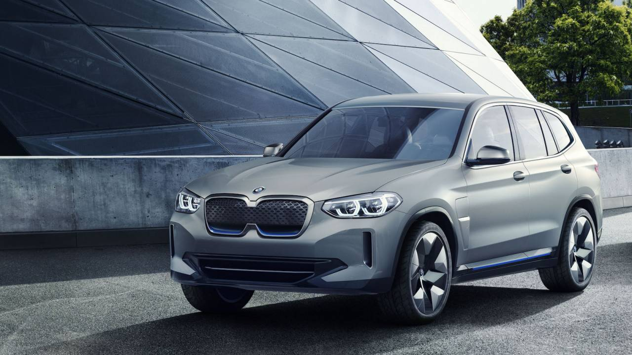 BMW iX3 electric SUV range detailed in big EV roadmap