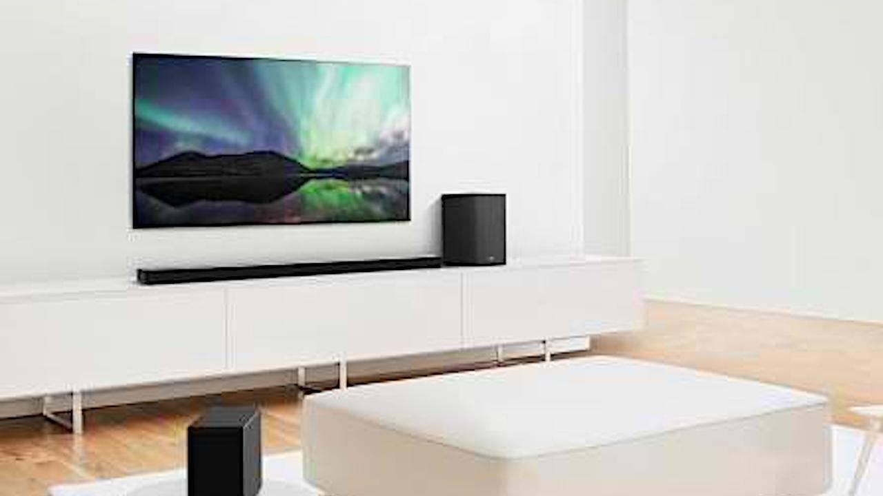 LG 2020 soundbars use AI to self-calibrate based on room acoustics