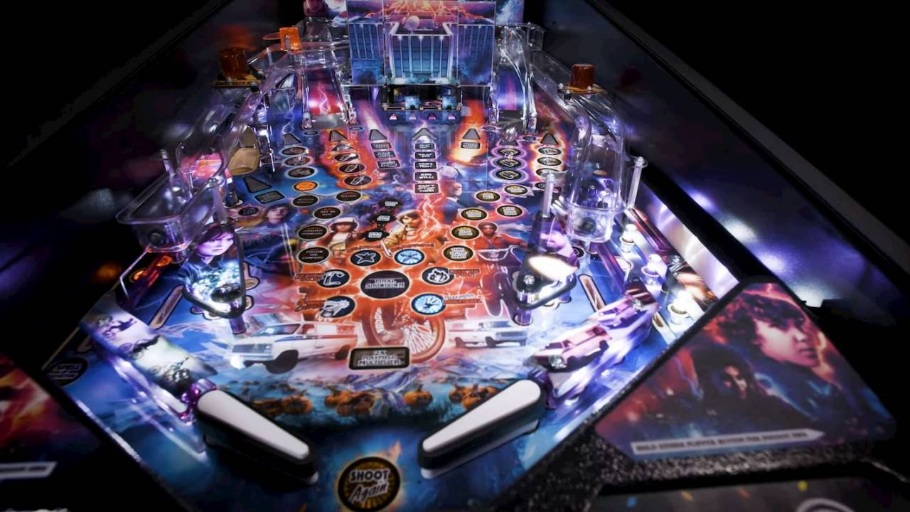 Stranger Things pinball machine is impressive and expensive