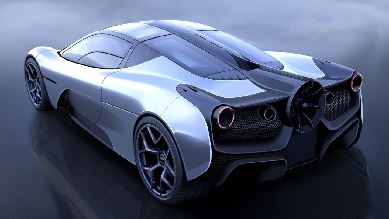 "The McLaren F1 creator's new supercar is an incredible ""fan car"""