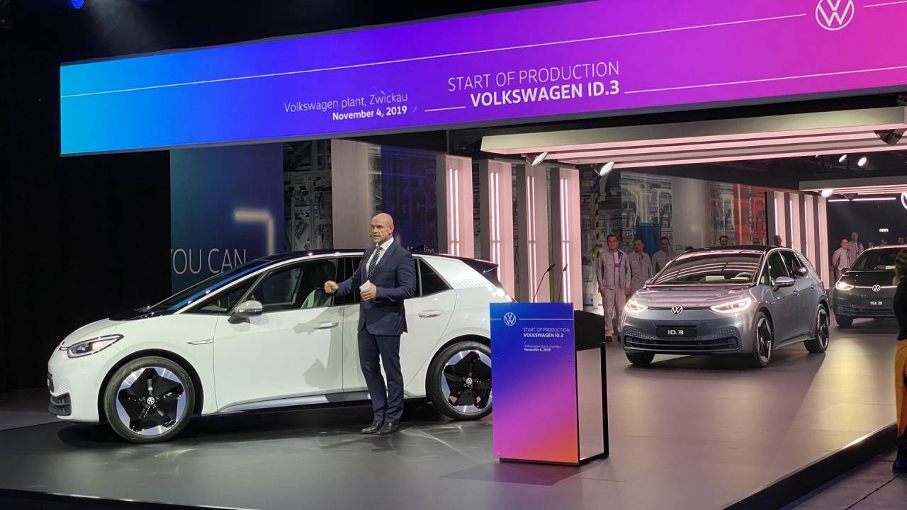 Volkswagen just cut two years off its electric car target
