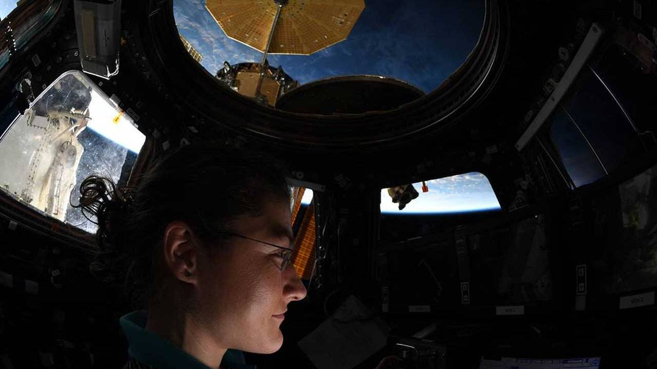 Astronaut Christina Koch breaks record for longest female space flight