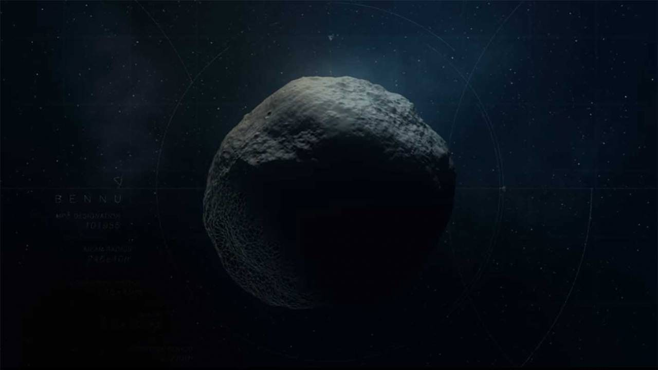 NASA reveals the four best sample sites on asteroid Bennu
