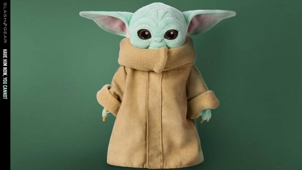 Disney shows new Baby Yoda toys that don't ship till spring