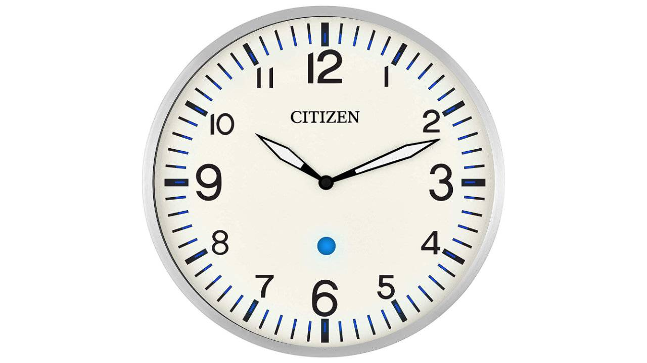 Citizen Smart Clock packs blue LEDs and Echo compatibility