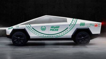 Dubai police to get a Tesla Cybertruck