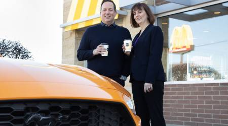 Ford and McDonald's team to make car parts out of coffee bean skins