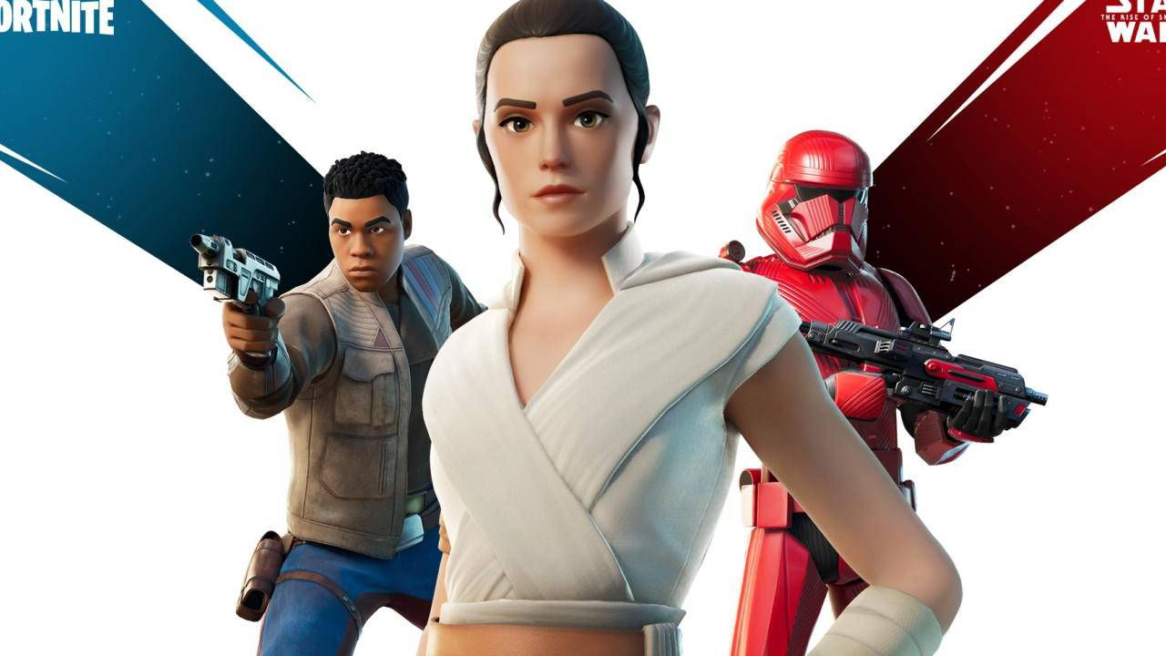 Fortnite Star Wars skins let you play as Rey, Finn, or a Sith Trooper