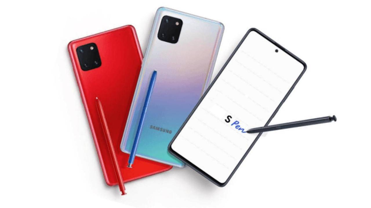 Galaxy Note 10 Lite could be hiding a Galaxy S9 inside