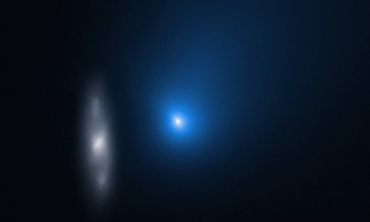 Hubble shares new images of comet 2I/Borisov