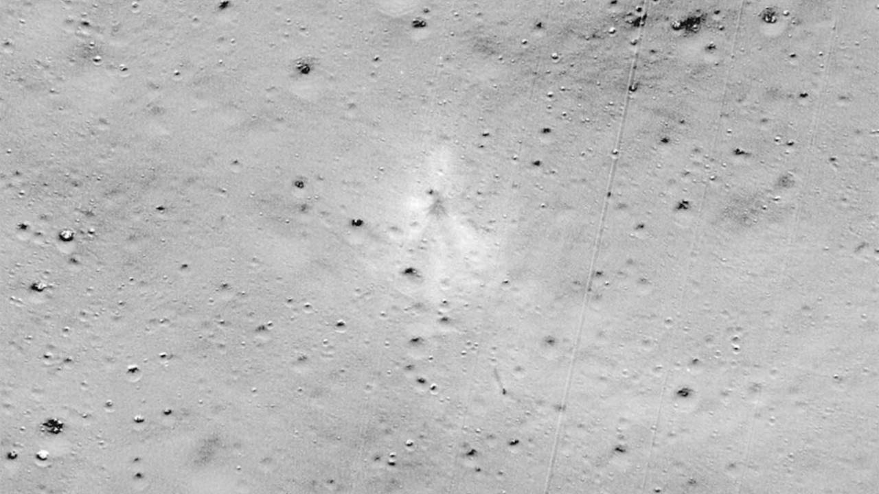 NASA spots lost Vikram lunar lander's impact site on the Moon